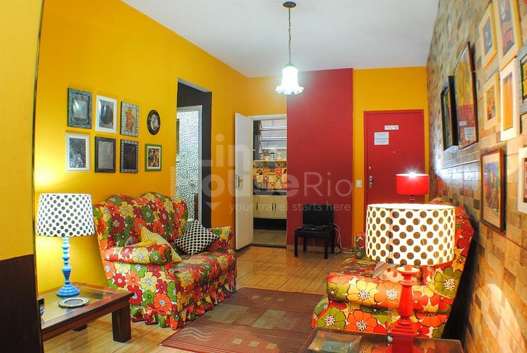 COLORFUL APARTMENT COPACABANA C1-0016