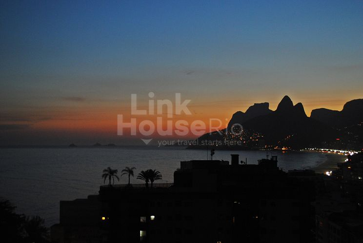 POSTCARD VIEW IPANEMA A1-001