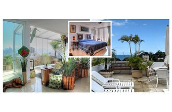 TROPICAL TRIPLEX ROOFTOP 2-SUITES A11-001*